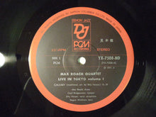 Load image into Gallery viewer, Max Roach Quartet Live In Tokyo Vol.1 Denon Jazz YX-7508-ND