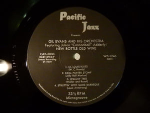 Gil Evans And His Orchestra Featuring Cannonball Adderley New Bottle, Old Wine Pacific Jazz GXF-3033