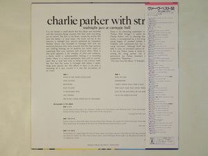 Charlie Parker With Strings - Midnight Jazz At Carnegie Hall (LP-Vinyl Record/Used)