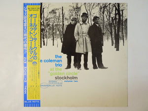 "The Ornette Coleman Trio - At The ""Golden Circle"" Stockholm - Volume Two (LP/Used)"