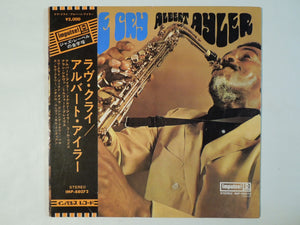 Albert Ayler - Love Cry (Gatefold LP-Vinyl Record/Used)