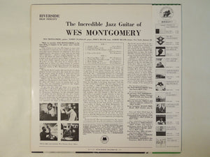 Wes Montgomery - The Incredible Jazz Guitar Of Wes Montgomery (LP/Used)
