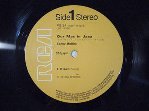 Sonny Rollins - Our Man In Jazz (LP/Used)