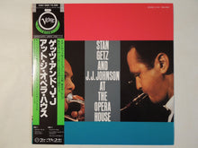 Load image into Gallery viewer, Stan Getz And J.J. Johnson - At The Opera House (LP-Vinyl Record/Used)