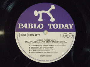 Sarah Vaughan & The Count Basie Orchestra - Send In The Clowns (LP-Vinyl Record/Used)