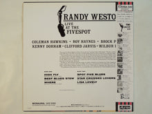 Load image into Gallery viewer, Randy Weston - Live At The Fivespot (LP/Used)