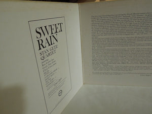Stan Getz - Sweet Rain (Gatefold LP-Vinyl Record/Used)