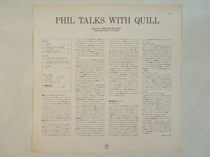 The Phil Woods Quartet With Gene Quill - Phil Talks With Quill (LP/Used)
