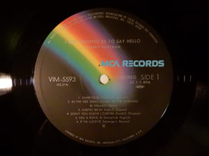 Johnny Hartman I Just Dropped By To Say Hello MCA Records VIM-5593