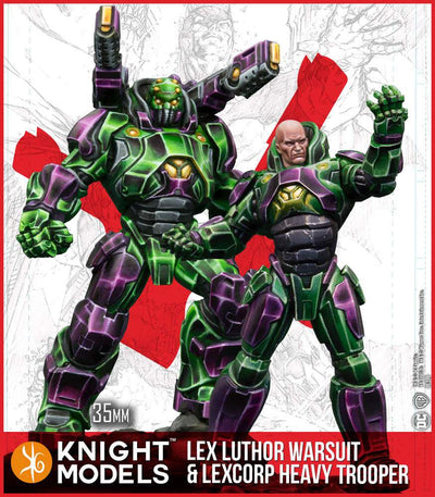 Lex Luthor Armour & Heavy Trooper