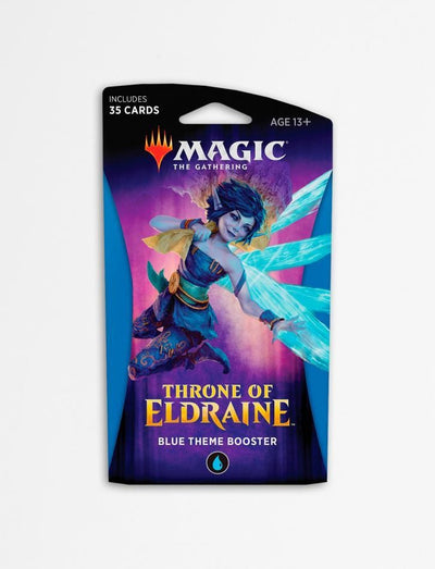 Magic The Gathering - Throne Of Eldraine Theme Booster - Blue
