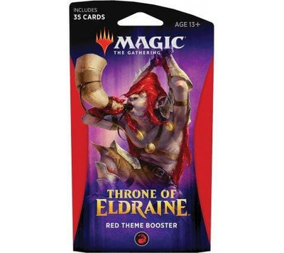 Magic The Gathering - Throne Of Eldraine Theme Booster - Red