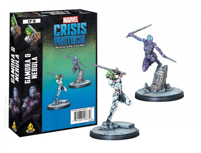 Marvel Crisis Protocol Gamora and Nebula