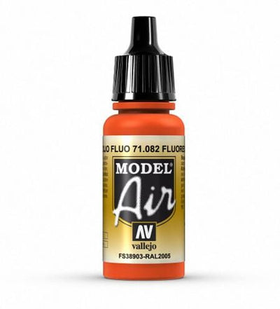 Model Air - Fluorescent Red