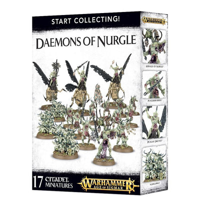 Start Collecting Deamons of Nurgle