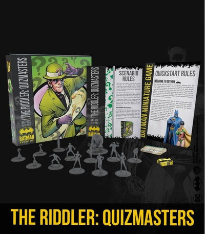 The Riddler Quizmasters Bat Box
