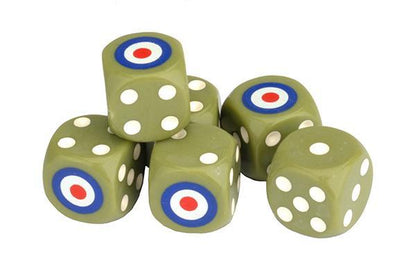 british-dice-set