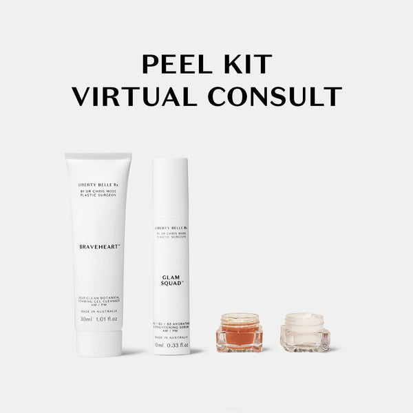 Do-It-Yourself Peel & Mask Kit Virtual Consult