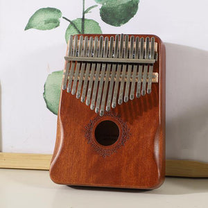 Open image in slideshow, buy kalimba Australia 17 Keys mahogany kalimba thumb piano instrument best kalimba online - little kalimba shop