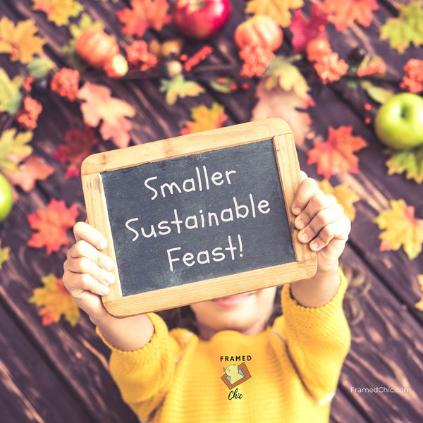 10 Ideas for Smaller Sustainable Thanksgiving 2020