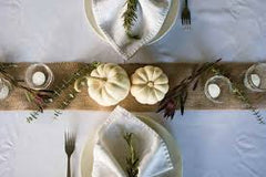 Small Thanksgiving table setting | FRAMED CHIC This is Chic blog