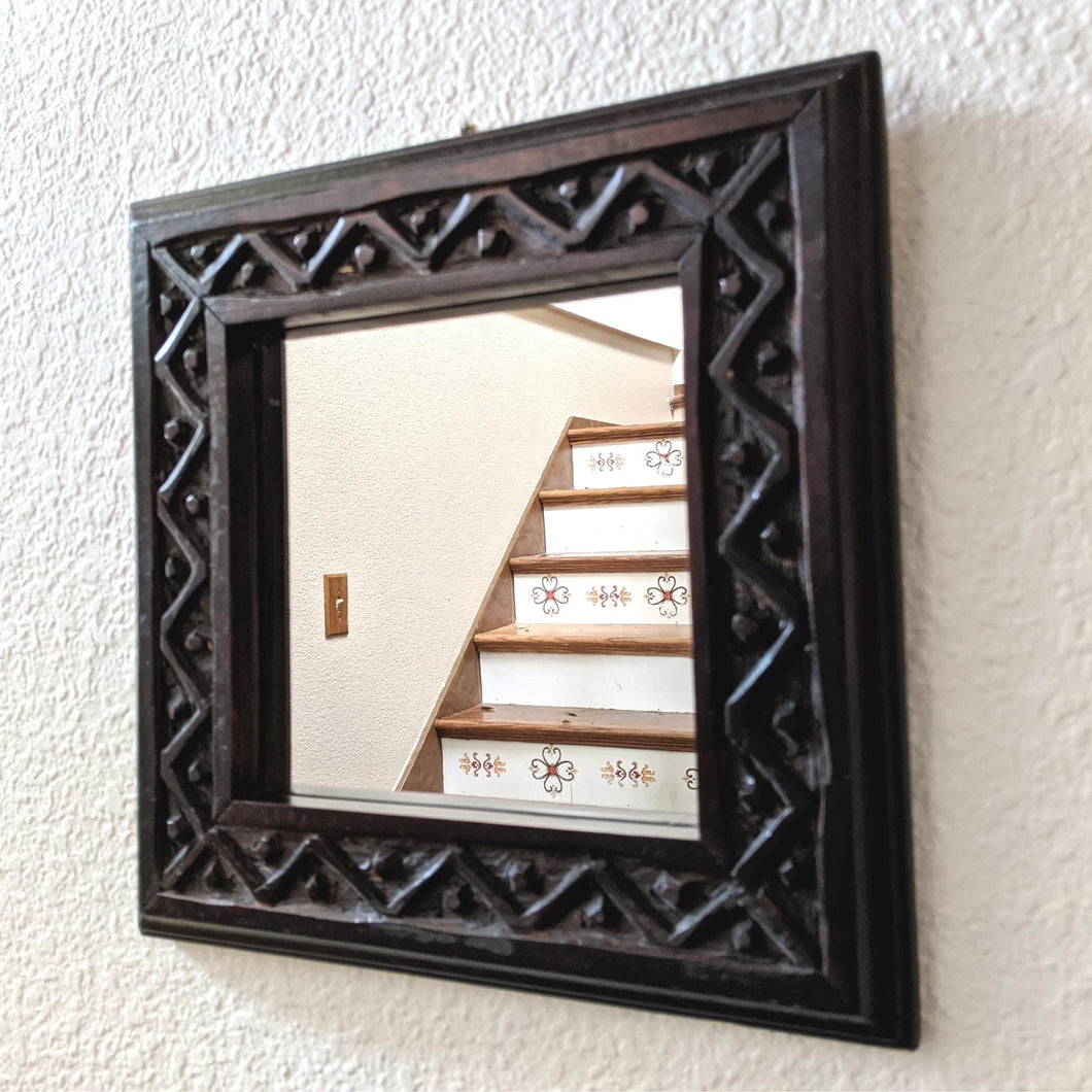 Savanna Carved Accent Mirror