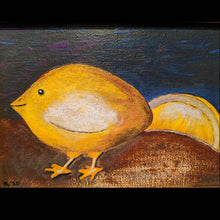 Load image into Gallery viewer, Lemon Chick Framed Canvas Painting