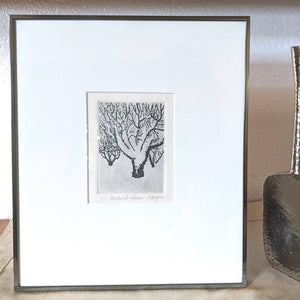 Orchard Snow Framed Wall Art