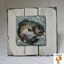 Load image into Gallery viewer, Z SOLD Salmon Handmade Tile Wall Art