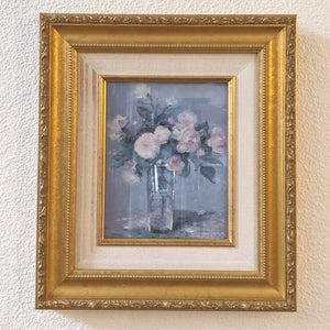 Pink Flowers Framed Art
