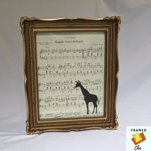Load image into Gallery viewer, Vintage Style Giraffe Wall Art