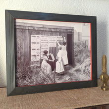 Load image into Gallery viewer, Women Vote Framed Wall Art