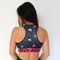 Donut Print - Padded Sports Bra