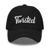 Twisted Dad Hat - Black Hat