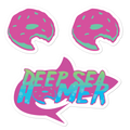 Deep Sea Homer - Sticker Pack