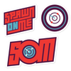 Spawn On Me - Sticker Pack