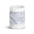 Sour Topographic - Coffee Mug