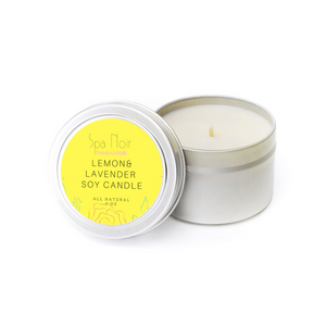 Lemon and Lavender Aromatherapy Candle