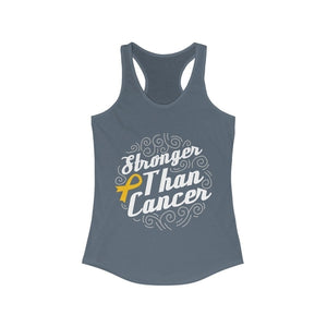 Stronger Than Cancer Racerback Tank Top