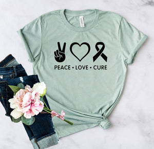 Peace Love Cure Shirt