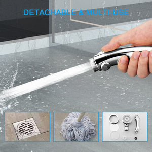 Stainless Spa Like Adjustable Water Saving Shower Head Three Modes