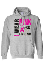 Load image into Gallery viewer, Unisex Pullover Hoodie Breast Cancer Awareness
