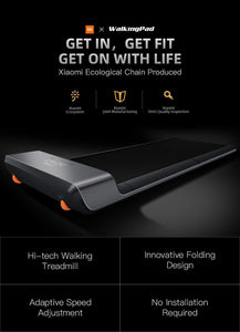 Never Miss a Step! Foldable Smart Treadmill (App Enabled)