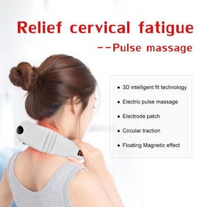 Electric Pulse Infrared Neck Massager for Relaxation and Pain Relief