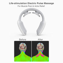 Load image into Gallery viewer, Electric Pulse Infrared Neck Massager for Relaxation and Pain Relief