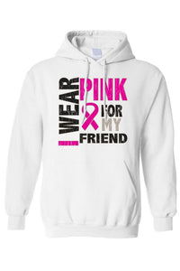 Unisex Pullover Hoodie Breast Cancer Awareness