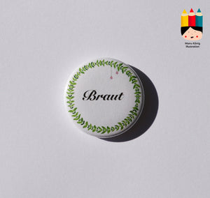 Button - Braut
