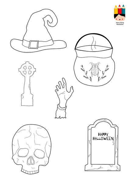 Manu König Illustration - Halloween
