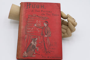 Vintage 1920s 1930s red story book.