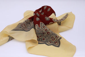 """Pocket square"" Vintage Tricel 1960s"